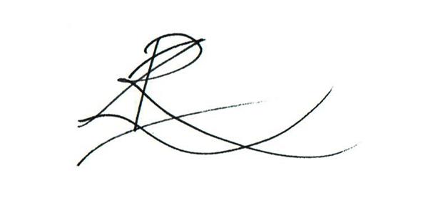 Zoe Reid's Signature