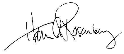 Hannah Rosenberg's Signature
