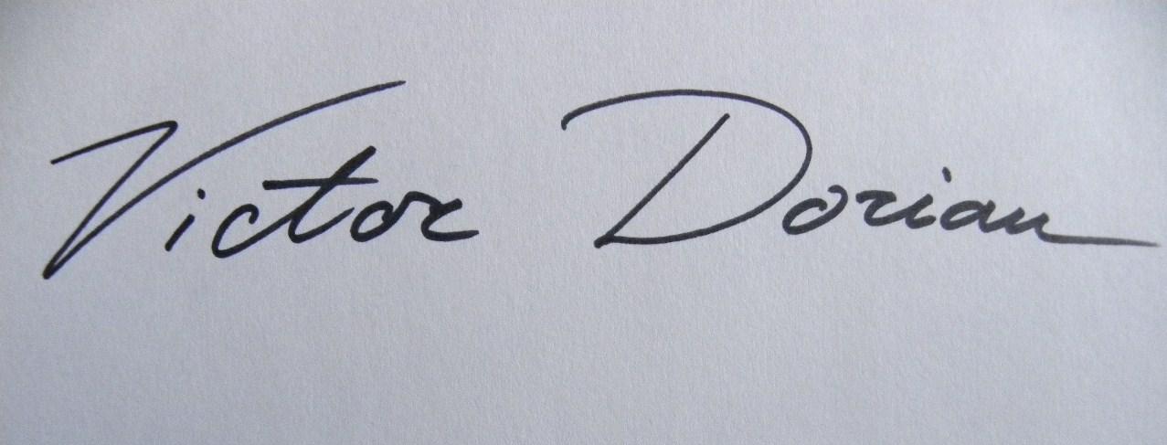 Victor Dorian's Signature