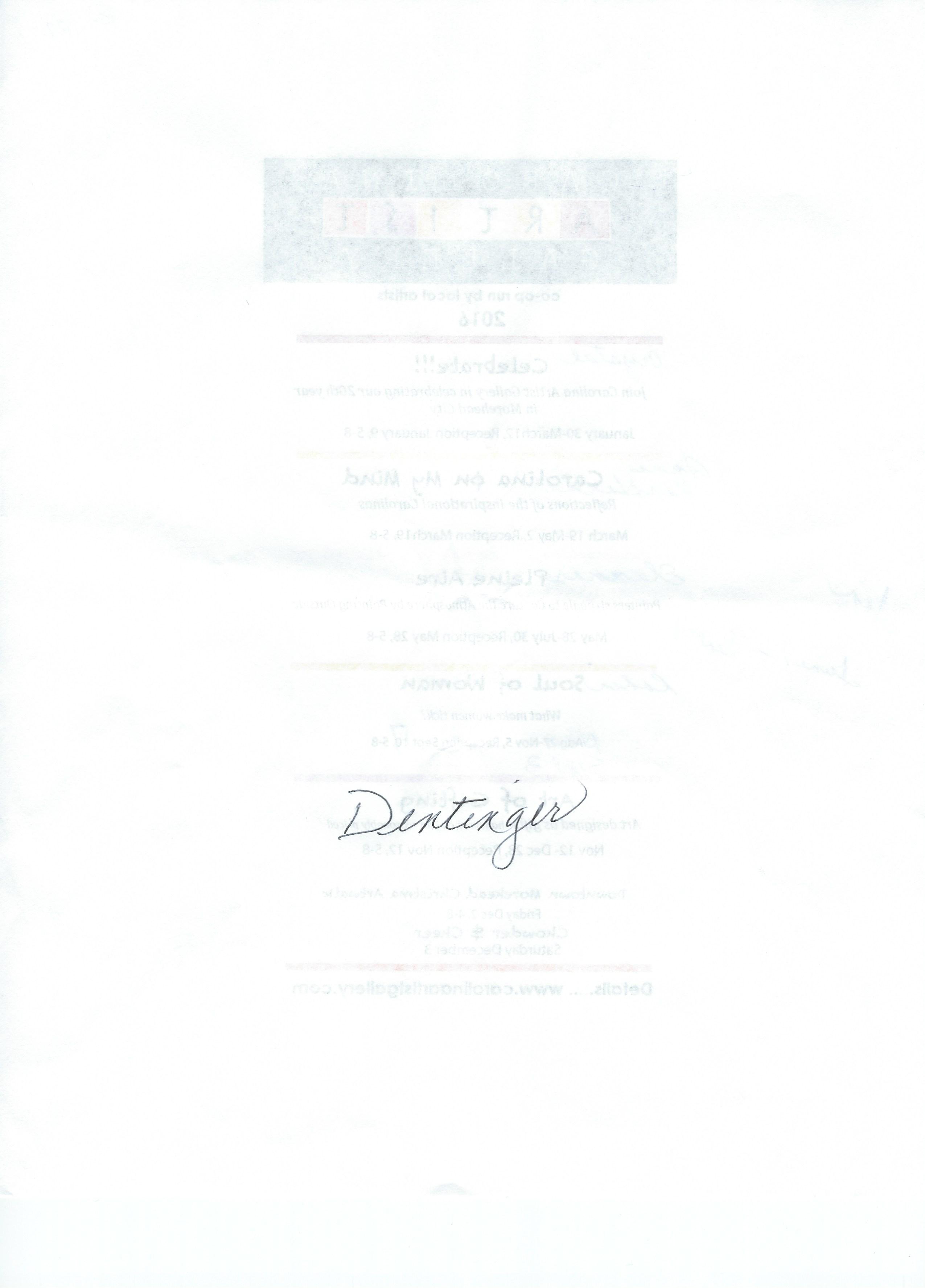 kathleen dentinger's Signature