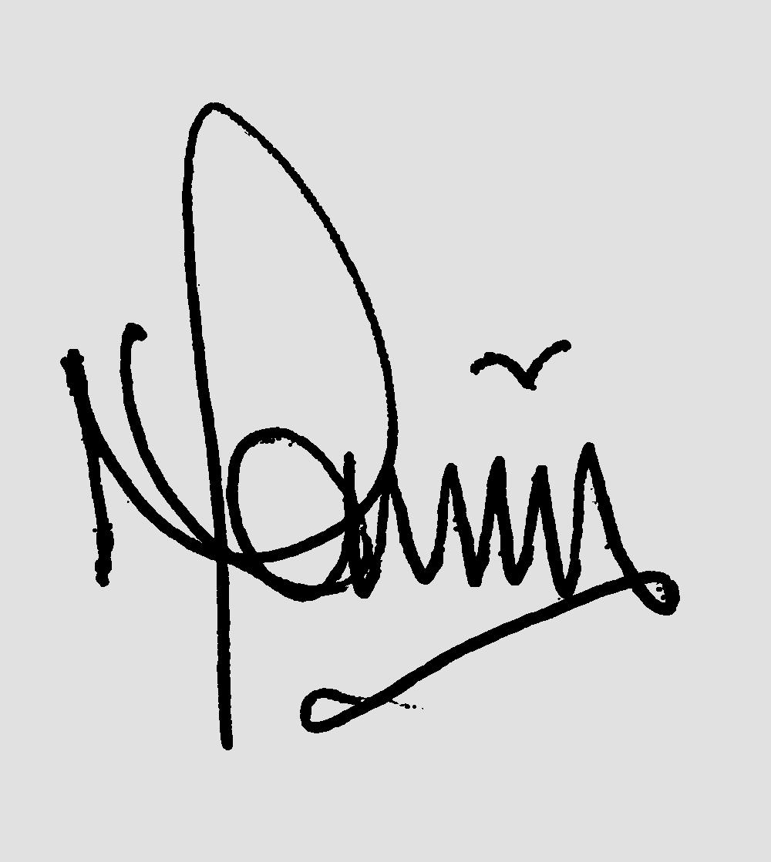 Neville Raven's Signature