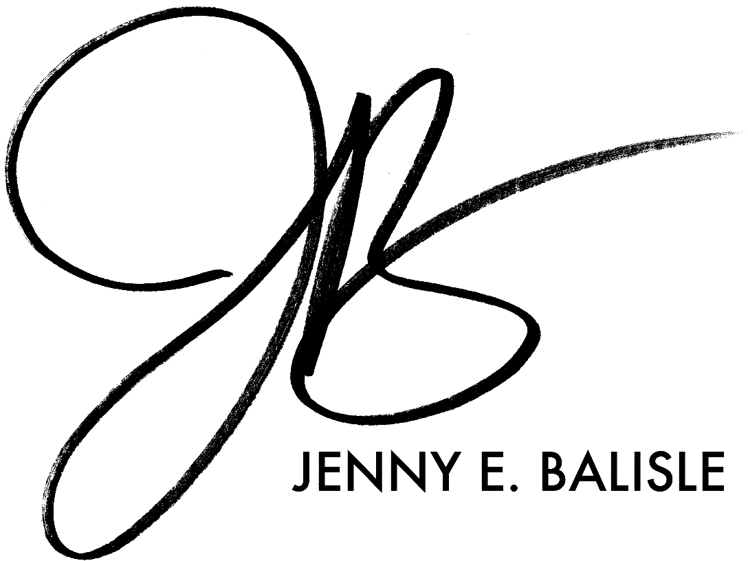 Jenny E. Balisle's Signature