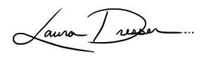 Laura Dresser's Signature