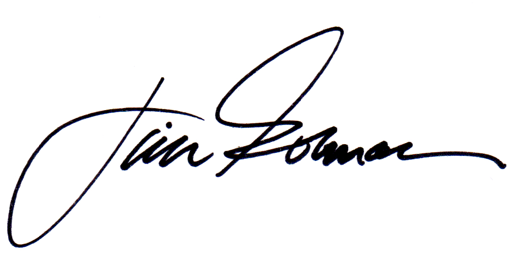 Jim Gorman's Signature