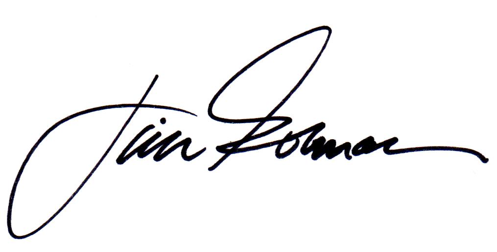 Jim Gorman's Signature