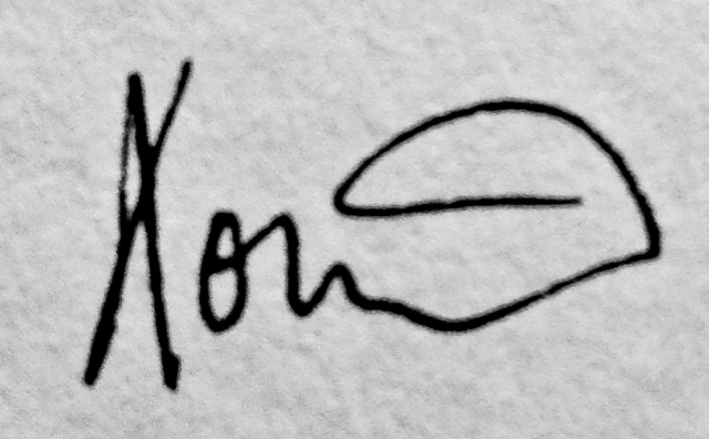 Eoin Byrne's Signature