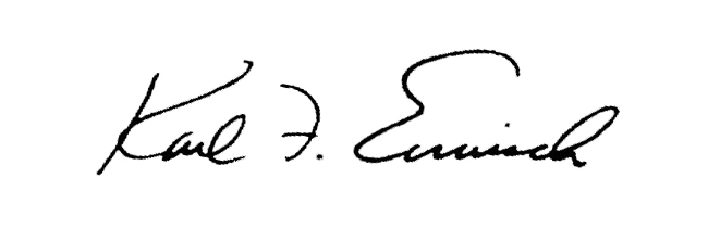 Karl Ermisch's Signature
