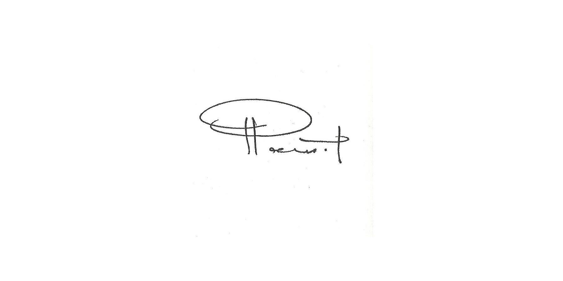 RAMSIN YEFIMA's Signature