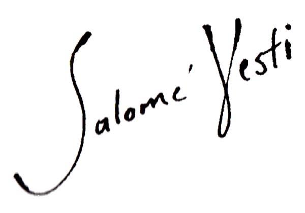Salome Vesti's Signature