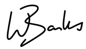 Wayne Banks's Signature