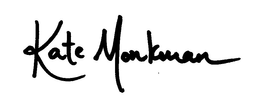 Kate Monkman's Signature