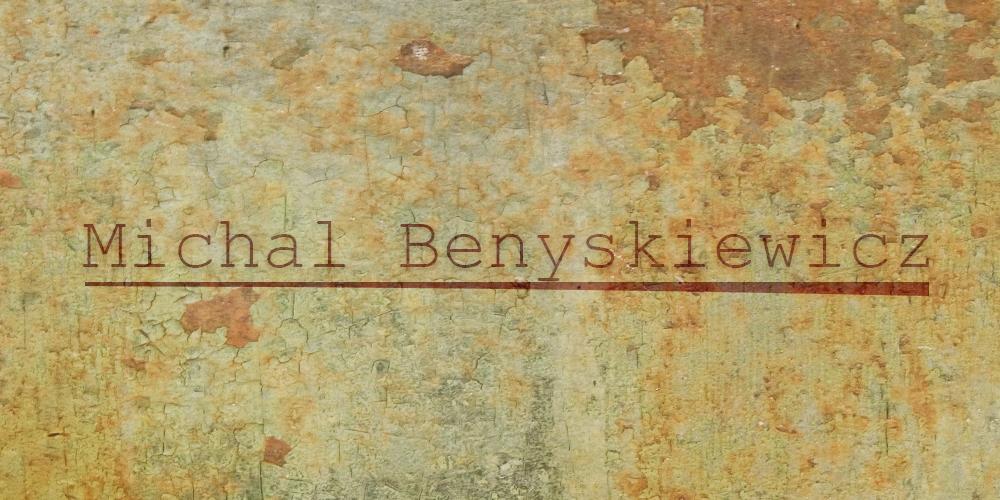 michal benyskiewicz's Signature