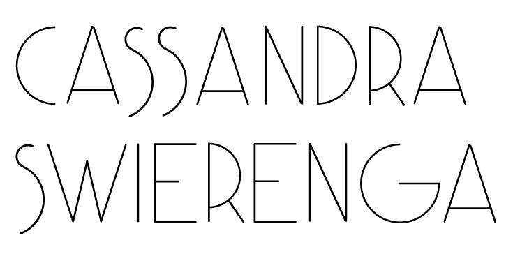 Cassandra Swierenga's Signature