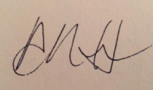 Adora Horton's Signature
