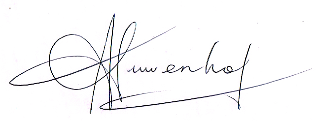 Jennifer Nieuwenhof's Signature