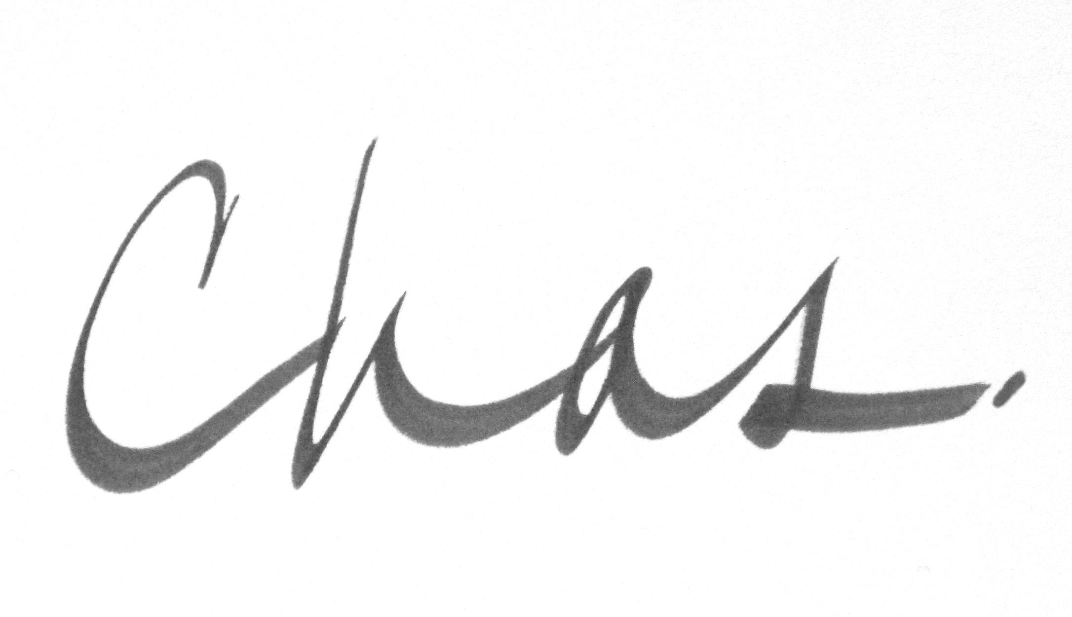 Charles Steele's Signature