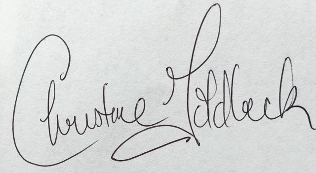 Christine Goldbeck's Signature