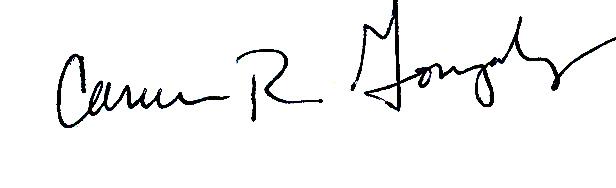 Carmen Gonzalez's Signature