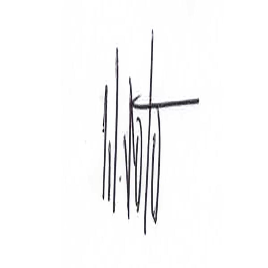 Wuilfredo Soto's Signature