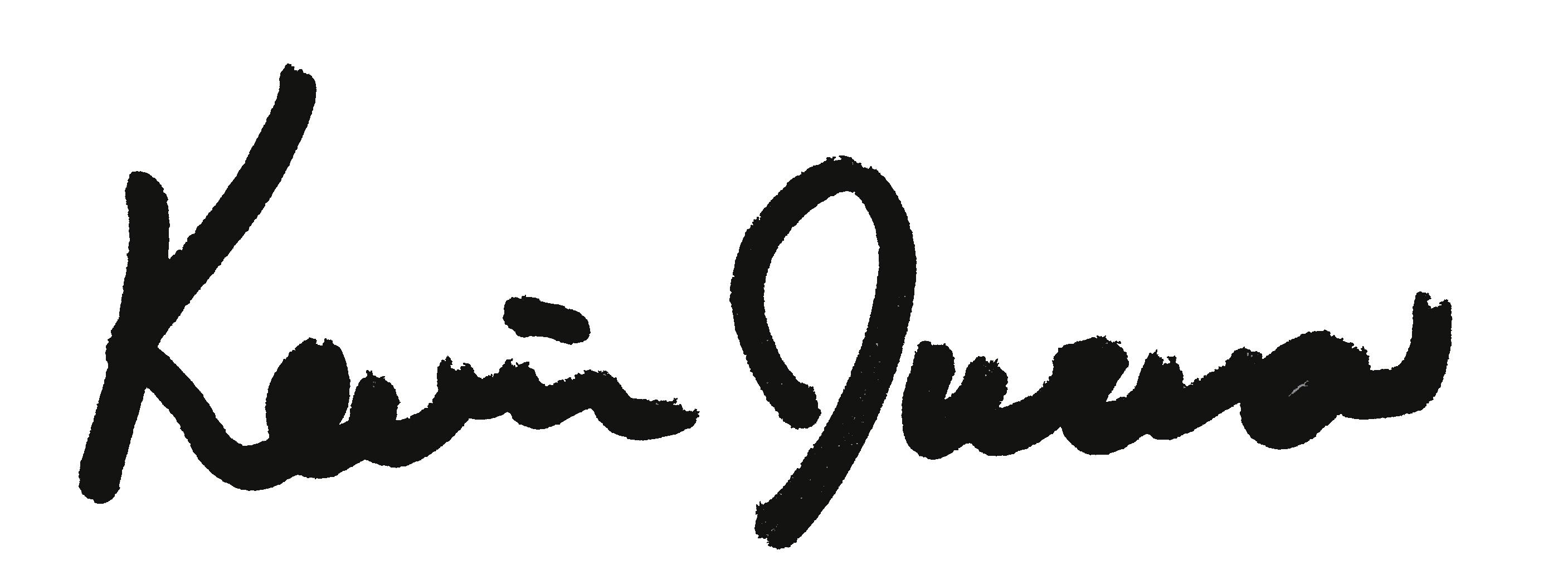 Kevin Jurva's Signature