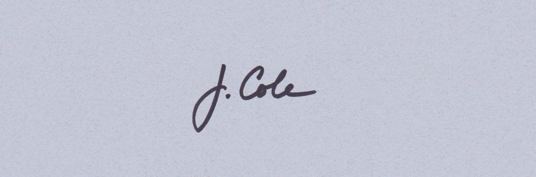Jennifer Cole's Signature