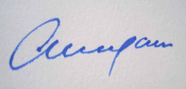 Anupam Halder's Signature