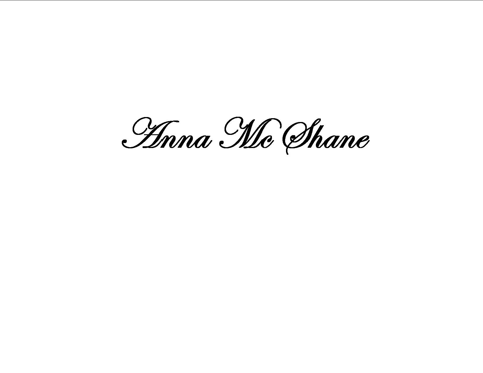 Anna Mc Shane's Signature