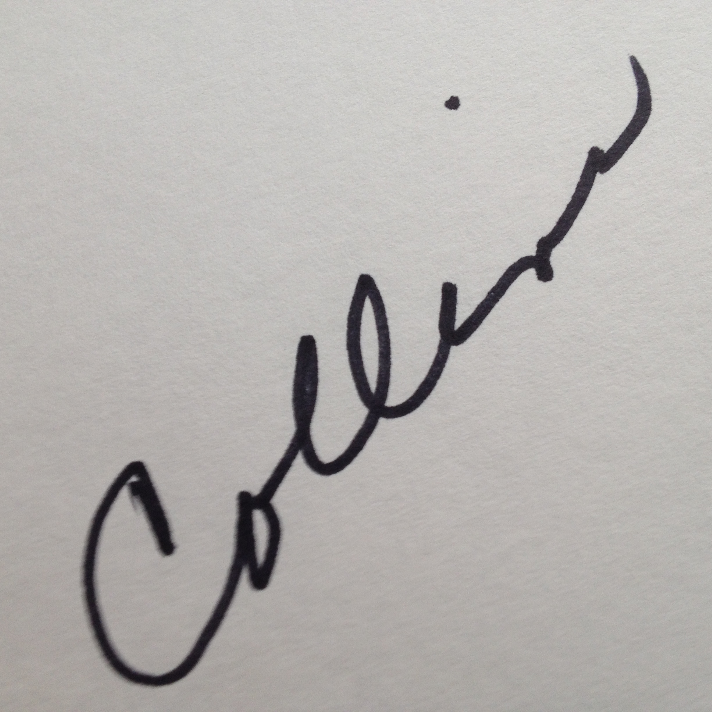 Pat lowery Collins's Signature