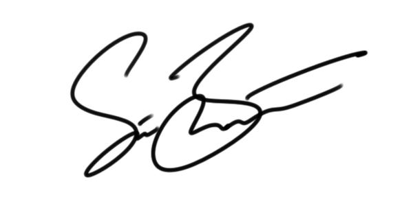 Steve Benton's Signature