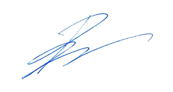 Pierre Pilon's Signature