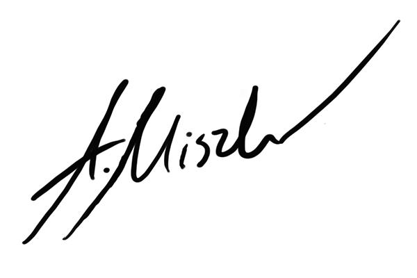 Adam Miszk's Signature