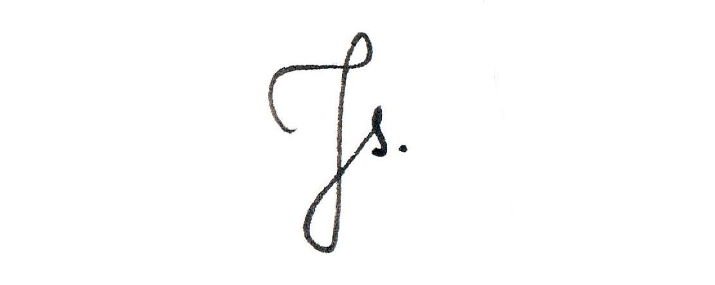 Jagoda Stączek's Signature
