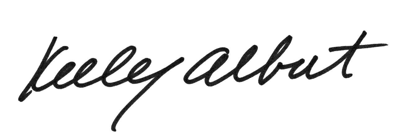Kelley Albert's Signature