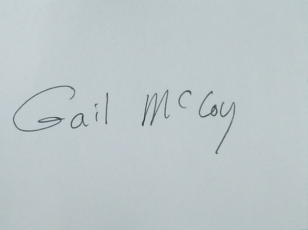 gail mccoy's Signature