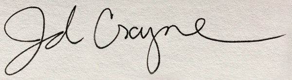 JD Crayne's Signature
