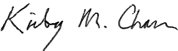 Kirby Chan's Signature