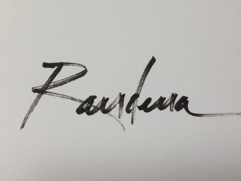 Randena Walsh's Signature