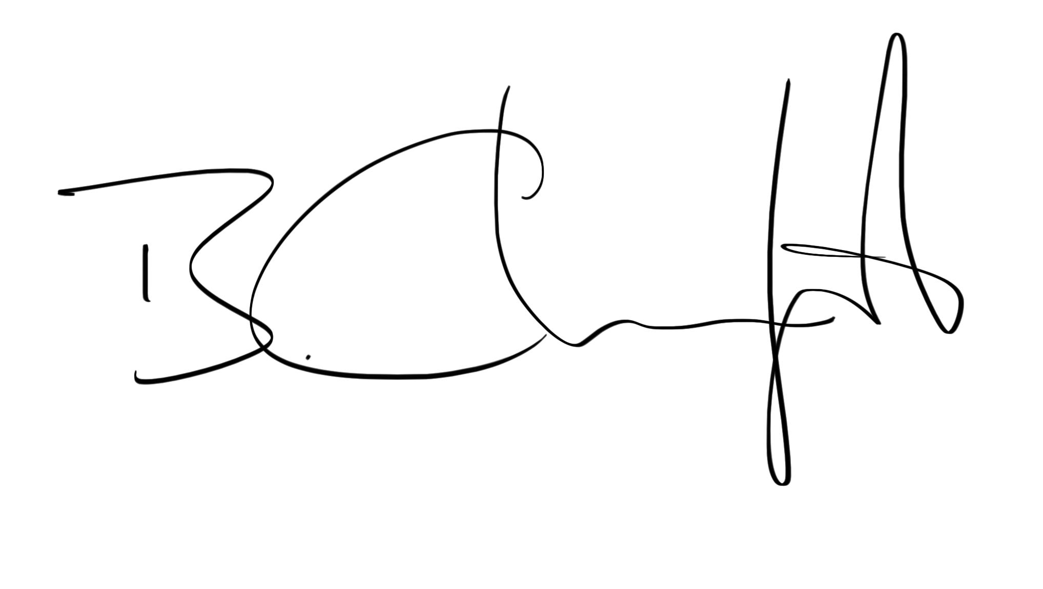 Bohdan Chreptak's Signature