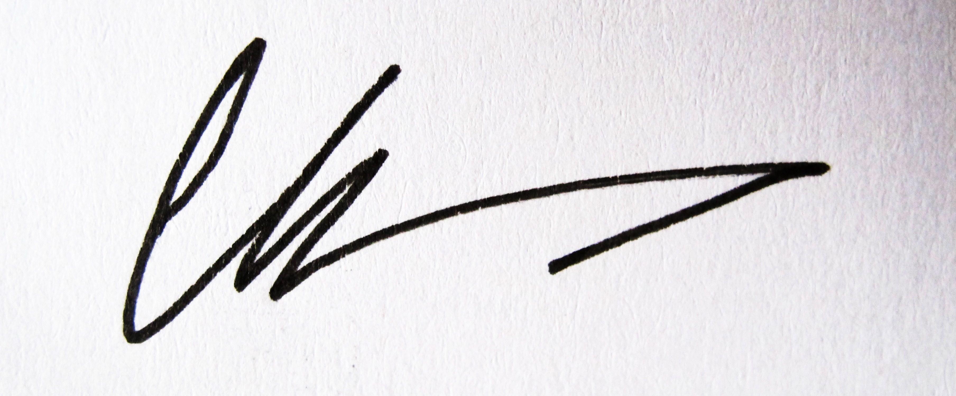 Diana Chelaru's Signature