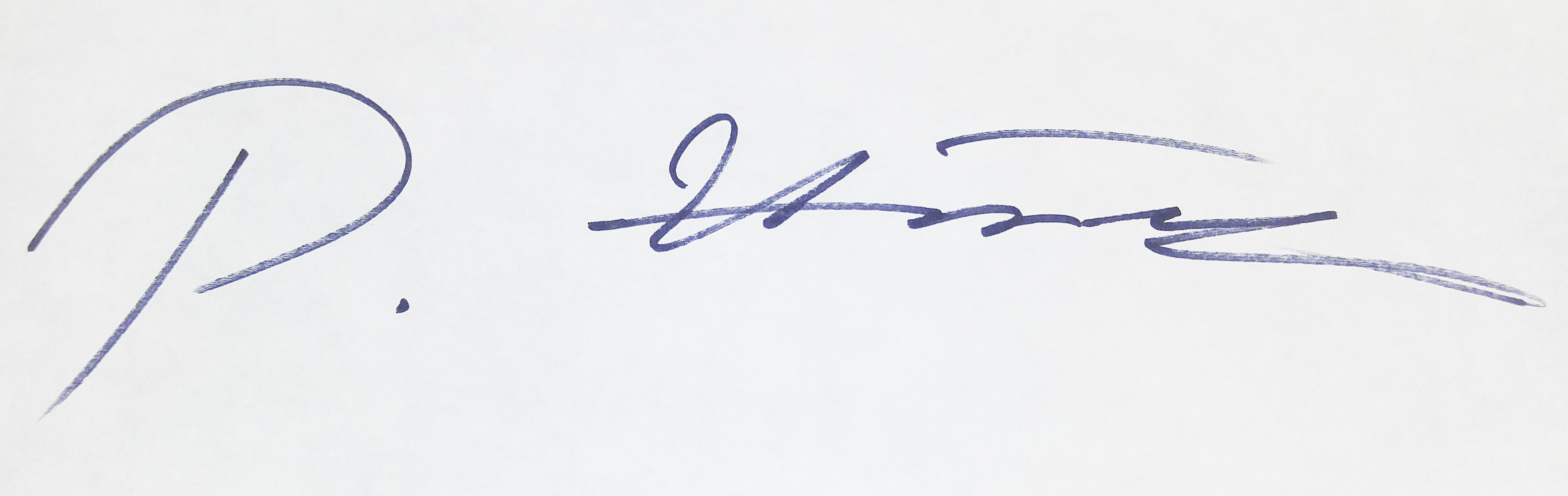 peggy H. Lee's Signature