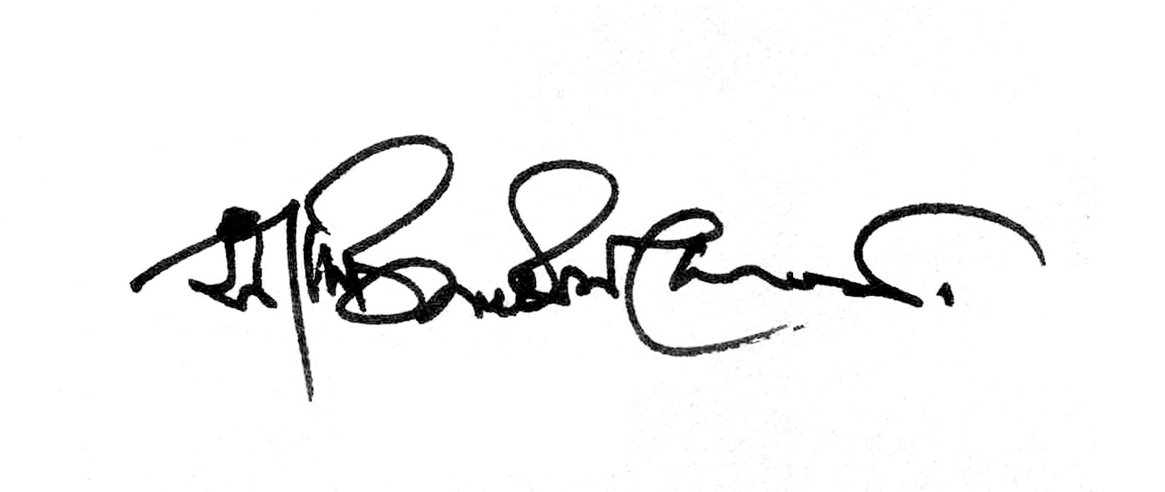 Sajid BIN Doza's Signature