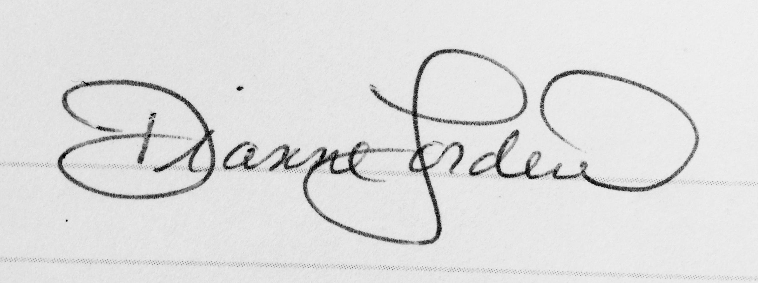Dianne Lorden's Signature