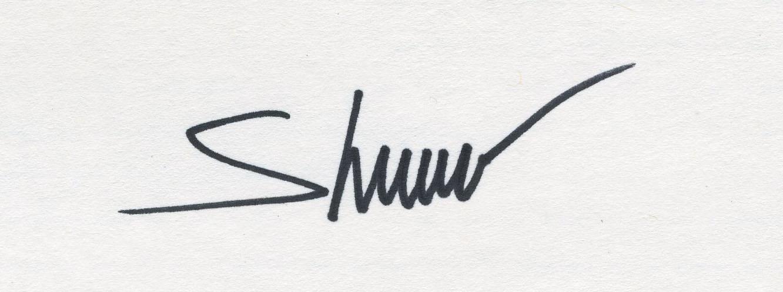 Edward Shmunes's Signature