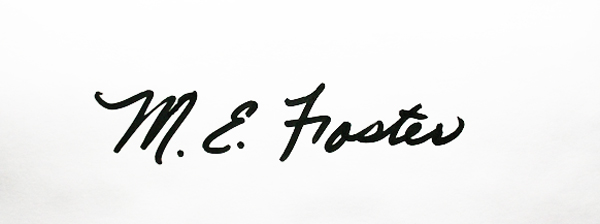 Mary E. Foster's Signature