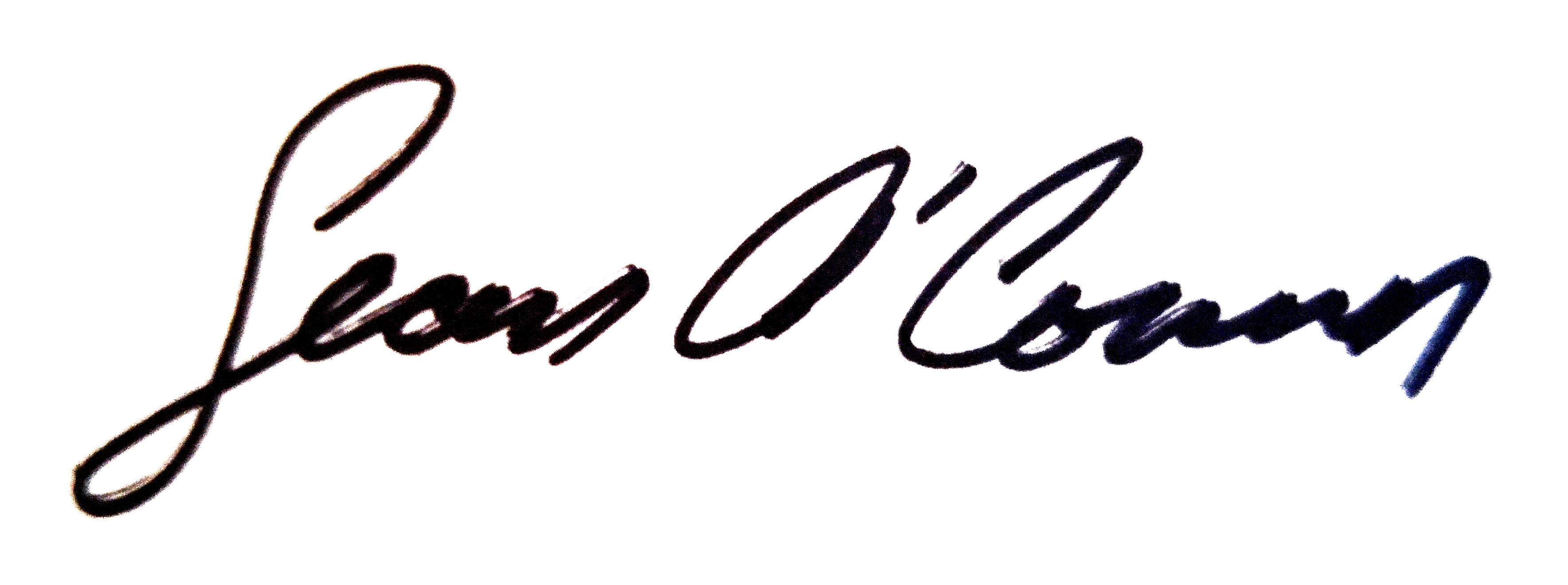 Sean OCONNOR's Signature