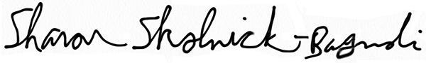 Sharon Skolnick-Bagnoli's Signature
