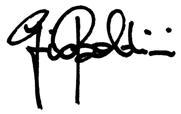 Giovanni Baldini's Signature
