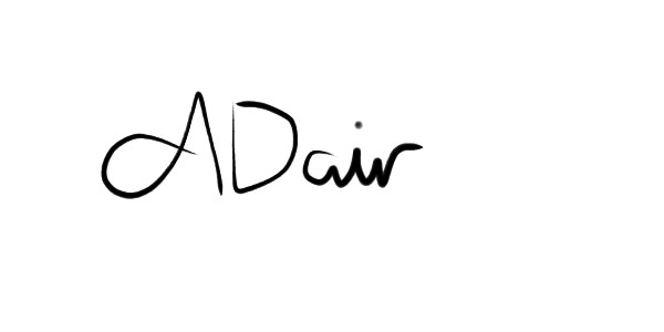 Alannah Dair's Signature