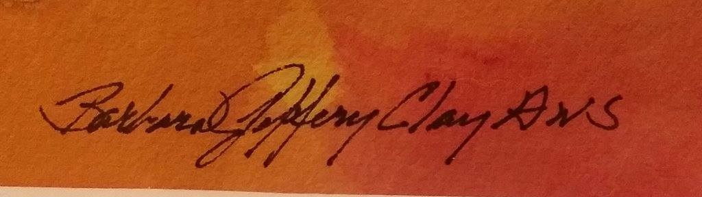 Barbara Jeffery Clay, A.W.S.'s Signature