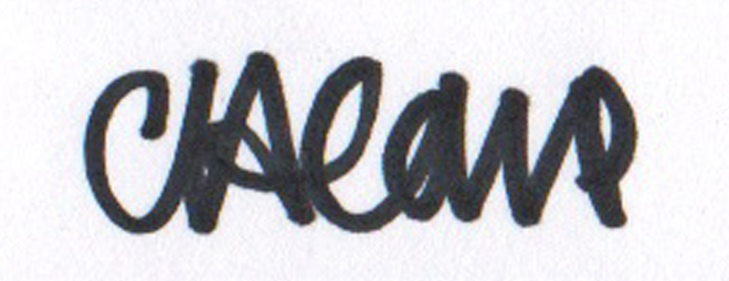 Clare Care's Signature